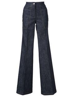 расклешенные джинсы Derek Lam