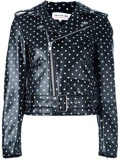 байкерская куртка в горох Comme Des Garçons Girl