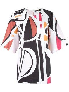 блузка с принтом Andrea Marques