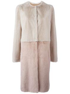 пальто из меха норки Liska