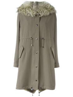 пальто со сборкой Liska