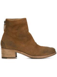 сапоги на деревянном каблуке Marsèll