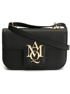 сумка через плечо с логотипом Alexander McQueen