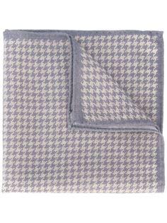 нагрудный платок с узором в ломаную клетку Eleventy