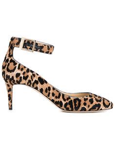 туфли Helena 65 с леопардовым принтом Jimmy Choo
