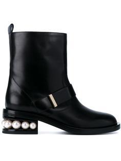 байкерские ботинки Casati Pearl Nicholas Kirkwood