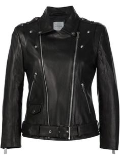 укороченная байкерская куртка  Anine Bing