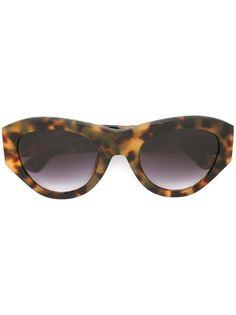 солнцезащитные очки в оправе кошачий глаз Linda Farrow Gallery