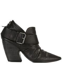 ботинки на молнии с пряжкой Marsèll