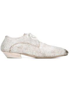 туфли Bianco с эффектом потертости Marsèll