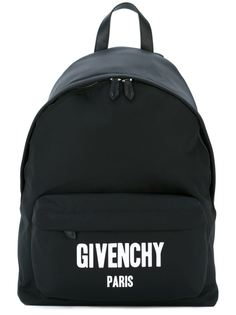 рюкзак с принтом-логотипом Givenchy