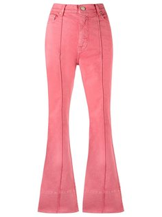 расклешенные брюки с завышенной посадкой  Amapô