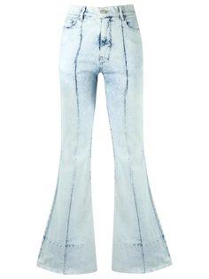 расклешенные джинсы с высокой талией  Amapô