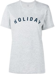 футболка с принтом-логотипом Holiday