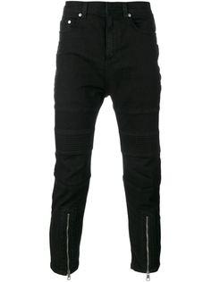 джинсы с молниями Neil Barrett