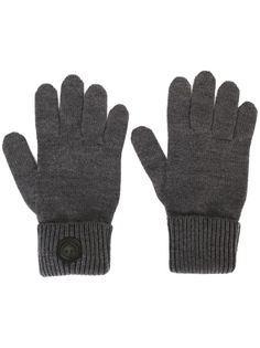 классические перчатки в рубчик Dsquared2