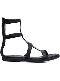 сандалии на молнии сзади Guidi