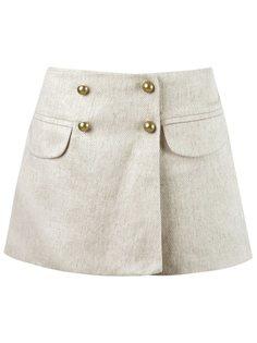 юбка-шорты с карманами Andrea Bogosian