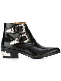 ботинки с ремешками на пряжке  Toga Pulla