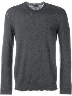 свитер с необработанными краями   Lanvin