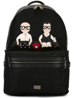 рюкзак с нашивками Vulcano  Dolce & Gabbana