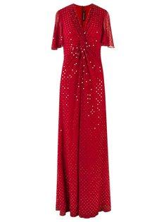 платье c V-образным вырезом   Reinaldo Lourenço
