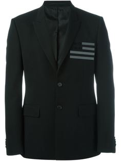 пиджак с флагом на груди Givenchy