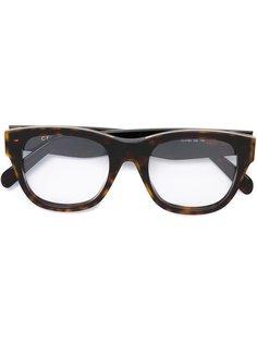 очки в квадратной оправе Céline Eyewear