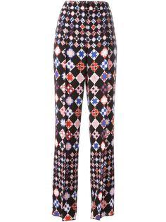 брюки с геометрическим принтом Emilio Pucci