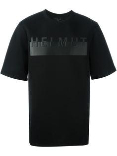 футболка с принтом  Helmut Lang
