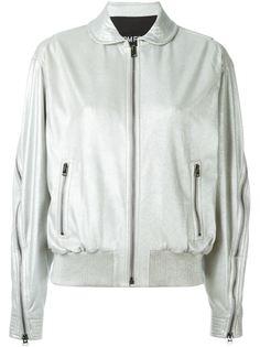 куртка-бомбер с молниями на рукавах Tom Ford