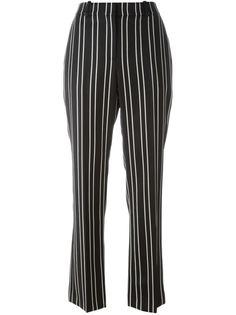 брюки в тонкую полоску Givenchy