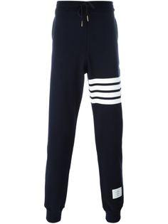 спортивные брюки с заниженной шаговой линией  Thom Browne