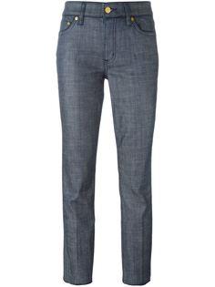 классические укороченные брюки Tory Burch