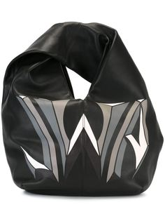 сумка-хобо с принтом логотипа JW Anderson