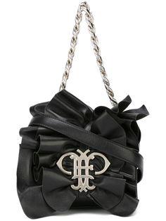сумка на плечо с оборками Emilio Pucci