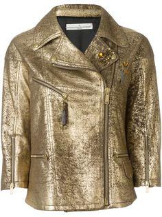 байкерская куртка Road Golden Goose Deluxe Brand
