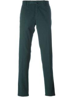 брюки-чинос кроя слим Incotex
