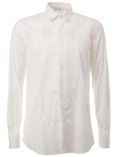 рубашка с пирсингом на воротнике  Neil Barrett