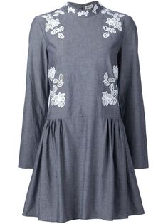 платье с вышивкой макраме Suno