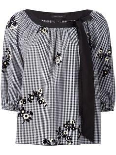блузка с цветами Marc Jacobs