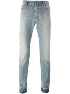 джинсы с контрастными манжетами  Maison Margiela