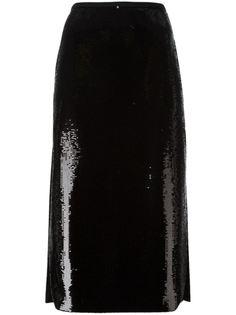 декорированная  юбка  Rochas