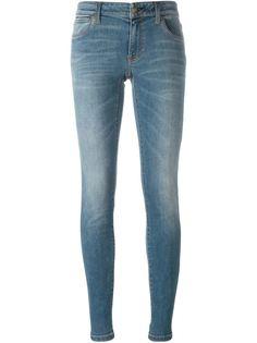 джинсы кроя скинни Burberry