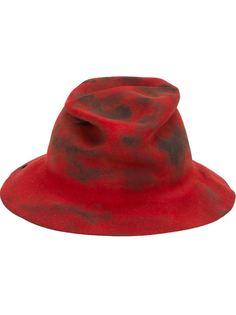 шляпа с потертой отделкой Horisaki Design & Handel
