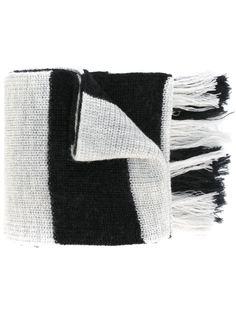 шарф в полоску Lanvin