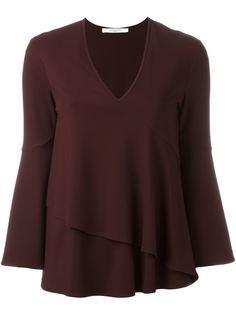 расклешенная блузка  Givenchy