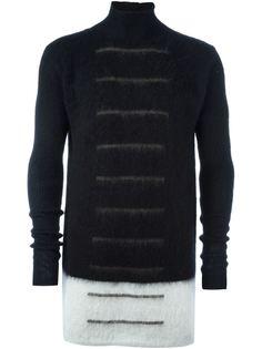 свитер в полоску  Rick Owens