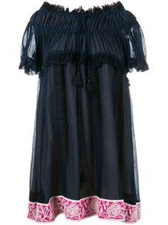 платье с открытыми плечами Chloé