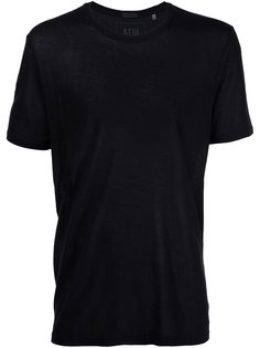 трикотажная футболка с круглым вырезом Atm Anthony Thomas Melillo